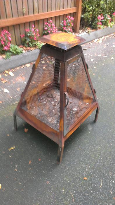 Outdoor fire pit/ cage - $75 (Downtown Victoria) Victoria ...