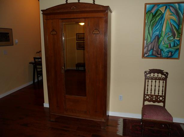 art nouveau wardrobe armoire saanich victoria. Black Bedroom Furniture Sets. Home Design Ideas