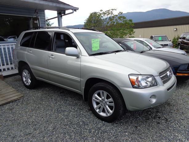 2006 toyota highlander 4x4 hybrid outside victoria victoria mobile. Black Bedroom Furniture Sets. Home Design Ideas