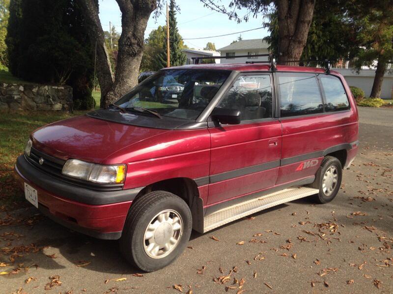 1995 Mazda Mpv 4x4 Saanich Victoria Mobile