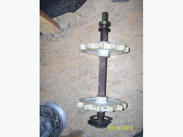 Skidoo Blizzard MX drive axle drive shaft