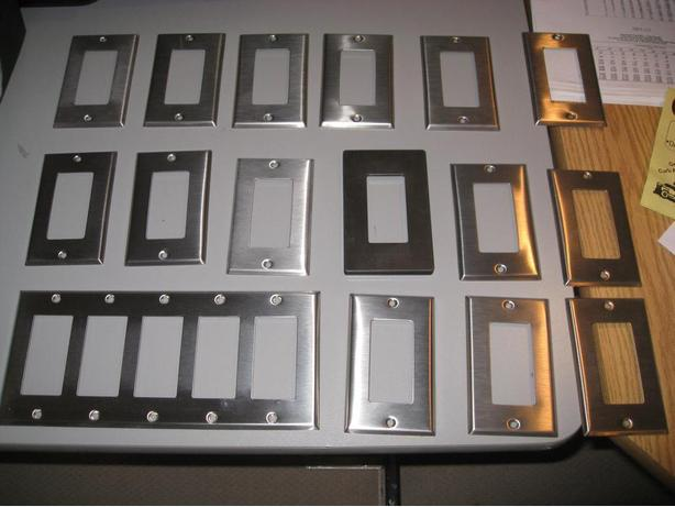Steel electrical plates