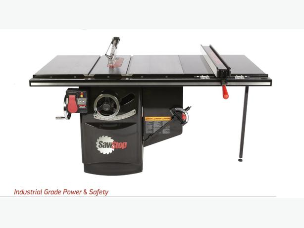 10 Sawstop Industrial Table Saw West Shore Langford Colwood Metchosin Highlands Victoria