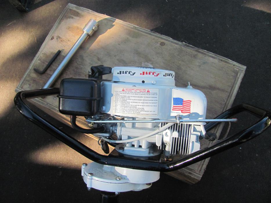 jiffy auger ice gas