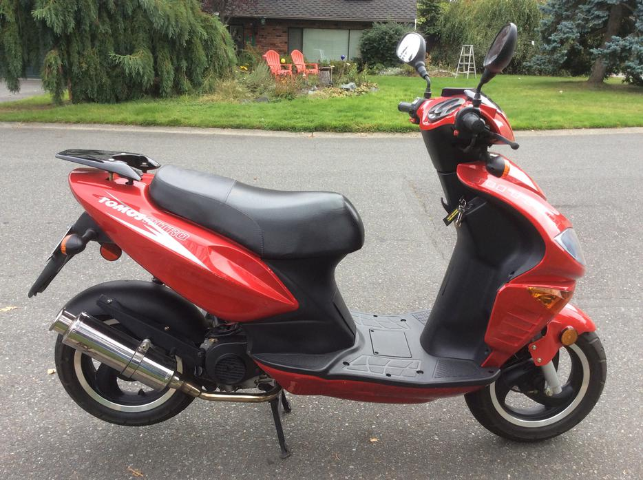 nitro 50cc scooter super low mileage saanich victoria mobile. Black Bedroom Furniture Sets. Home Design Ideas