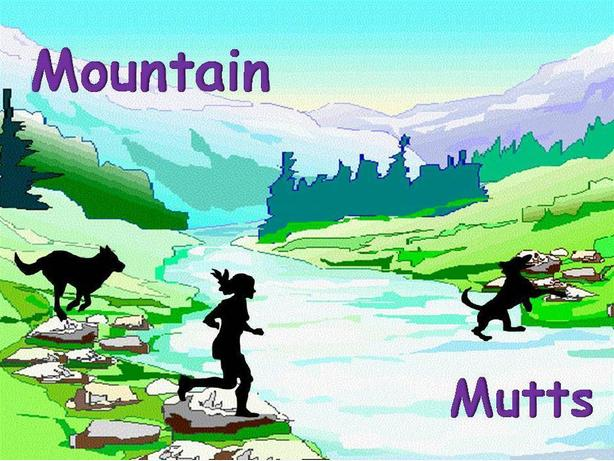 Mountain Mutts dog hiking!