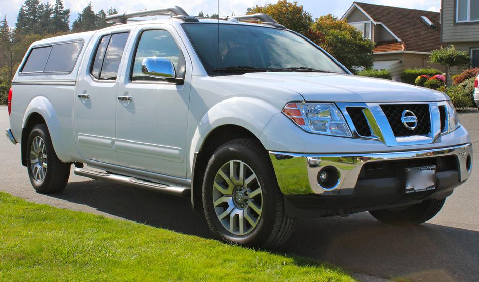 2012 Nissan Frontier Canopy Parksville Nanaimo