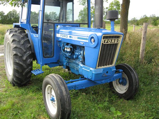 7600 Ford Tractor Parts List : Good ford farm tractor with laurin cab outside