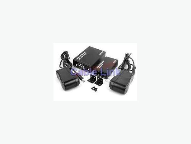 SVGA & Audio Extender Kit Over Single Cat5e/6 UTP up to 300 Meter
