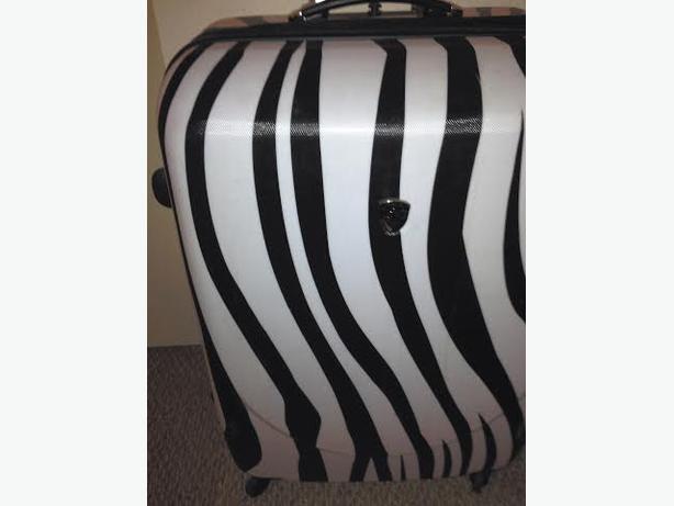 Zebra Suitcase Hard Case | Luggage And Suitcases