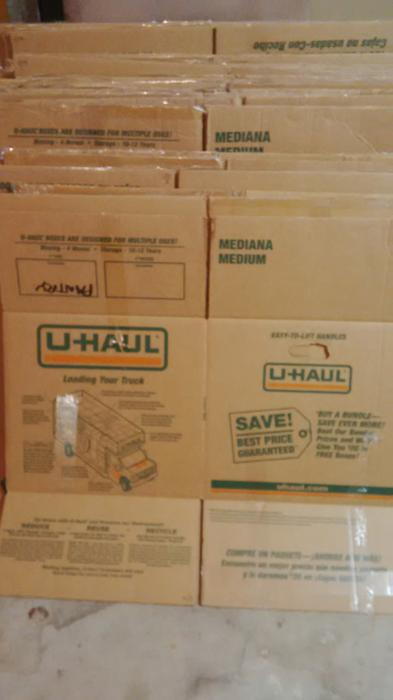 Used Uhaul Moving Boxes For Sale X 42 Medium Amp Large Sizes