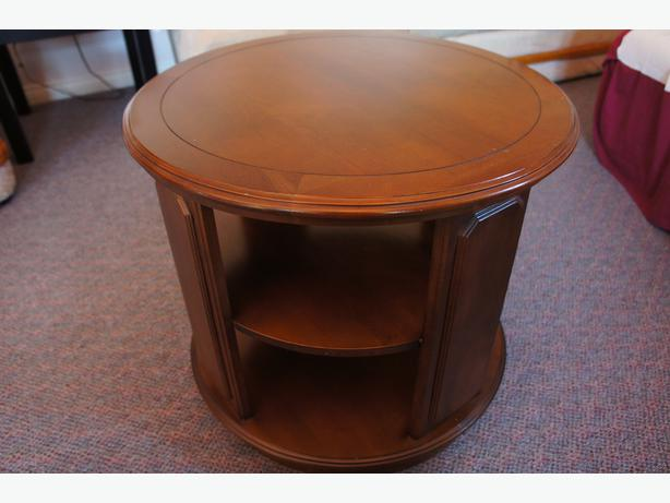 Solid Wood End Coffee Tables 2 Cobble Hill Cowichan