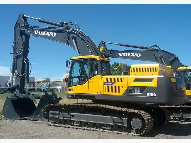 2013 Volvo Ec380 Dl Crawler Excavator Red Deer And Vicinity Red Deer