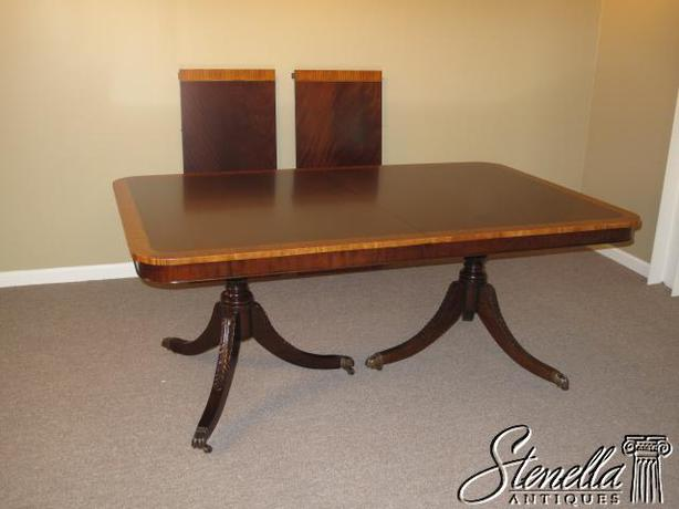 Wooden duncan phyfe table sooke victoria for Duncan 5 dining room table