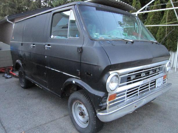 1974 Ford Econoline Van Saanich Victoria