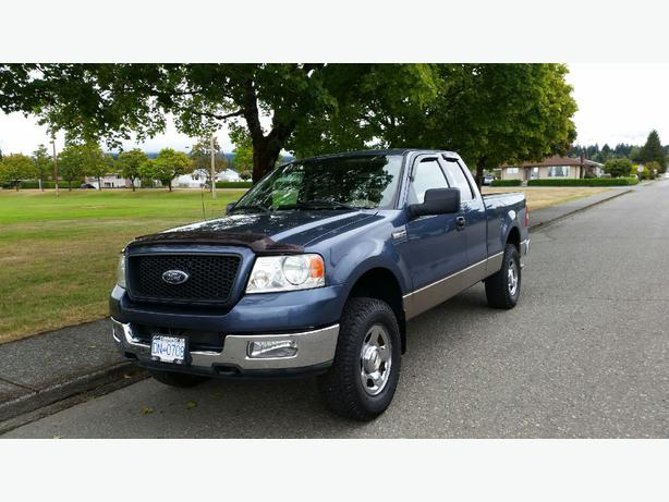 2004 f 150 xlt supercab 4x4 port alberni alberni. Black Bedroom Furniture Sets. Home Design Ideas