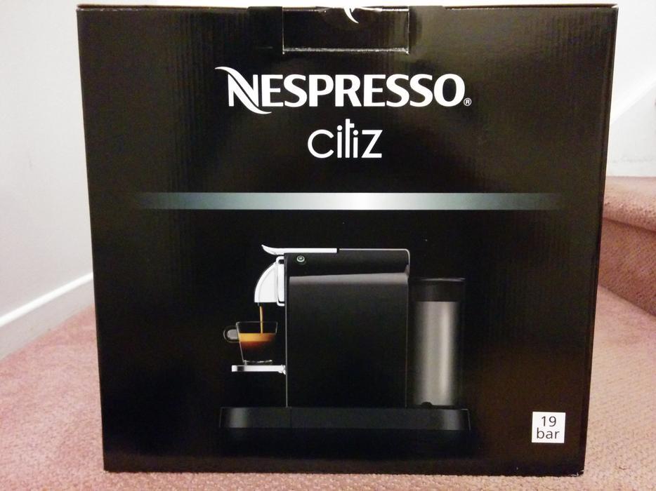 Nespresso  Citiz in box  $210 or best offer Central Ottawa (inside greenbel -> Nespresso Ottawa