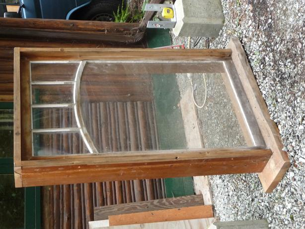 Single Casement Window : Free single pane character casement window north saanich