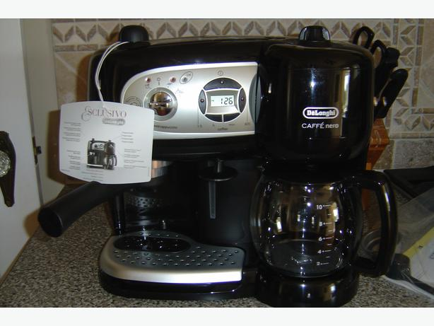 delonghi espresso cappuccino and drip coffee maker combo machine