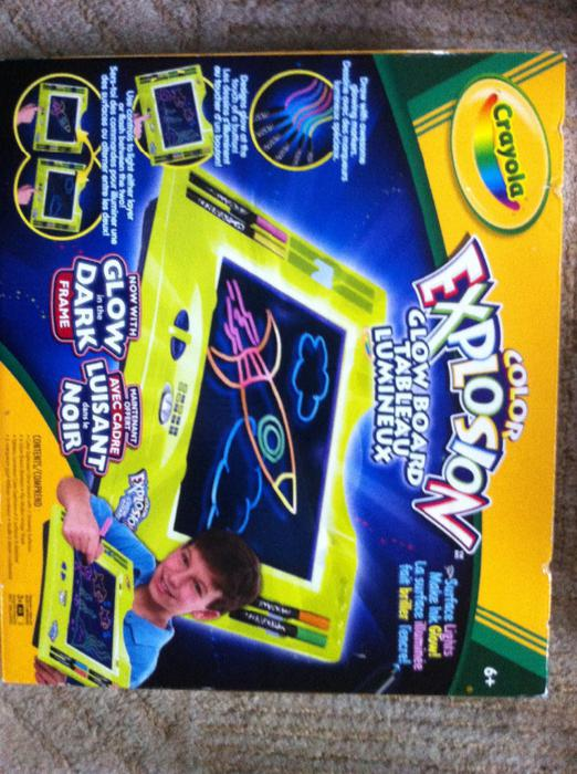 crayola glow board coloring pages - photo#8