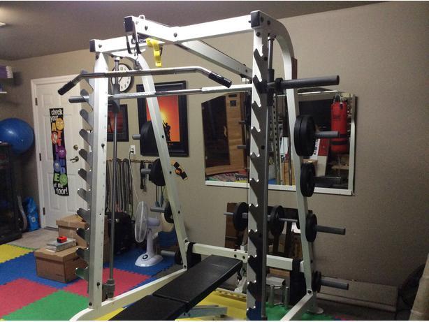 key fitness smith machine