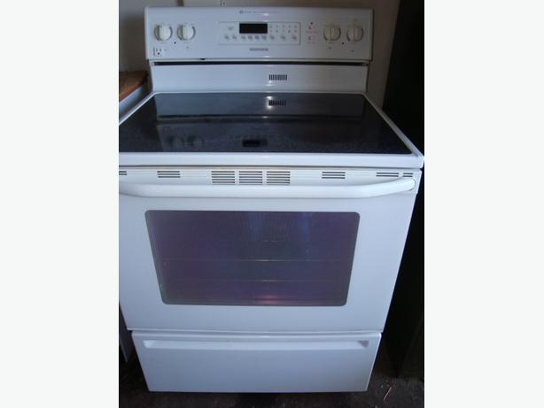 Flat Top Stove ~ Maytag flat top stove with convection and self clean oven