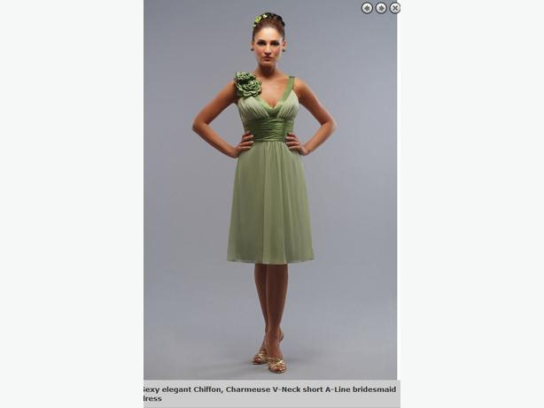 Beautiful sage green dress