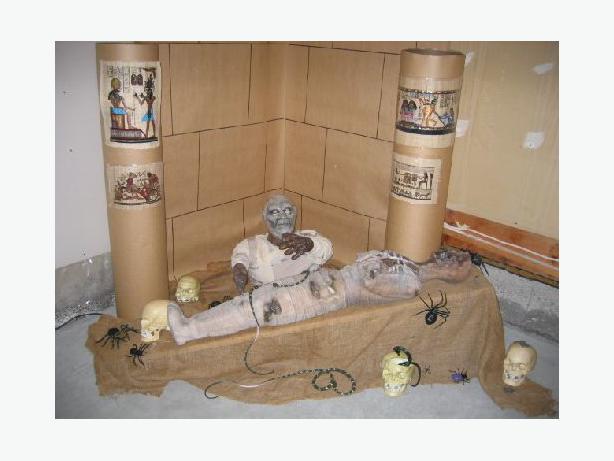 Halloween Prop Detailed Latex + Foam Mummy + Mask Prices below