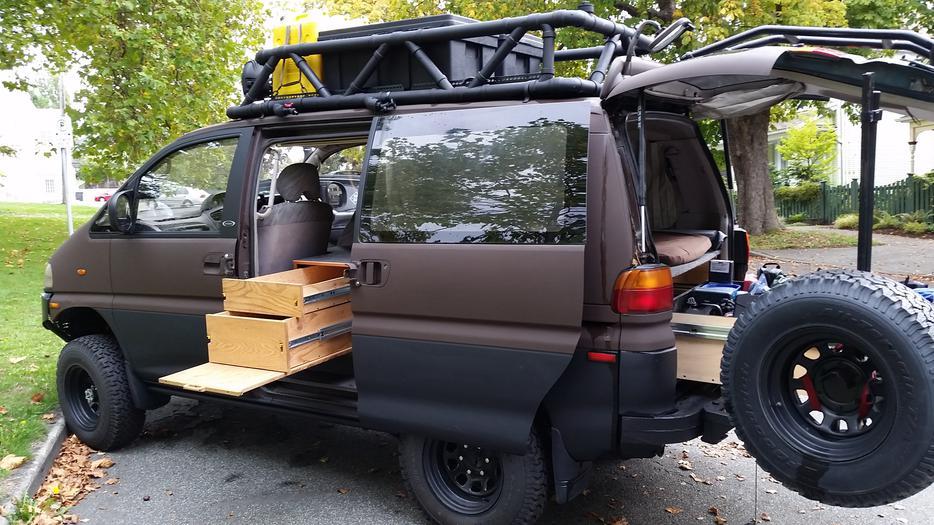 1994 4x4 Mitsubishi Delica Expedition Camper Victoria