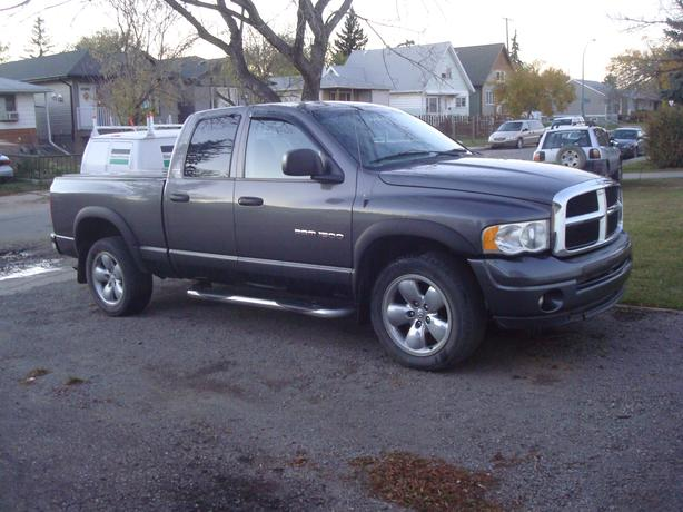 2002 dodge ram 1500 crew cab 4x4 north regina regina. Black Bedroom Furniture Sets. Home Design Ideas