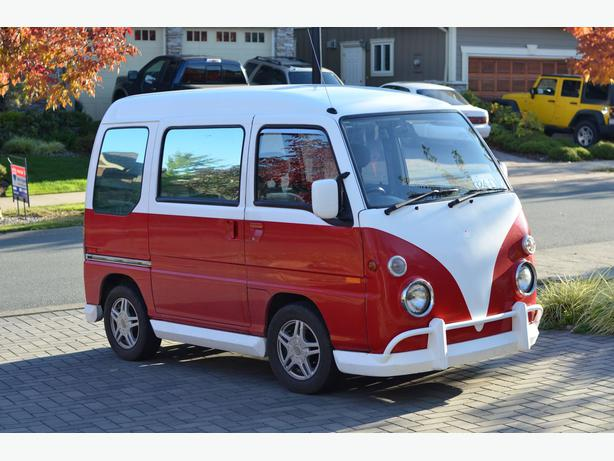 1991 Subaru Sambar Mini Bus 4x4 West Shore Langford