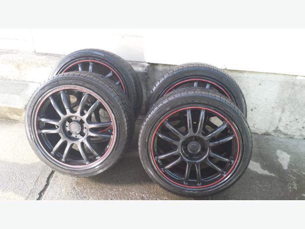 17 Inch Frd Racing Wheels And 205 40 R 17 Yokohama Tires