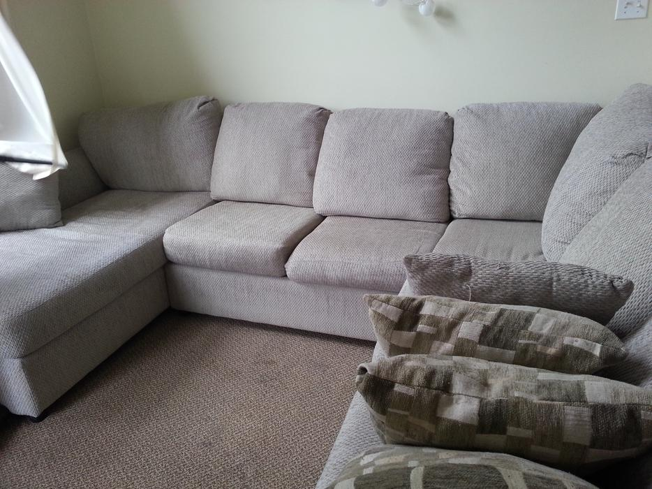 Sectional Couch From The Brick With 1 More Year Warranty Saanich Victoria