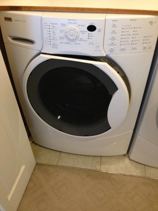 Kenmore Elite He4t Super Capacity Front Load Washer Dryer