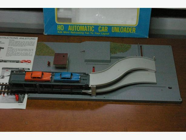 HO - Automatic Car Unloader