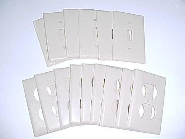 15 OUTLET COVER PLATES