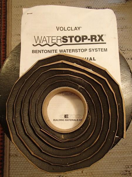 Bentonite WATERSTOP -RX Saanich, Victoria