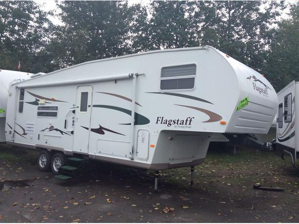 2006 Forest River Flagstaff 8528ress Fifth Wheel Courtenay
