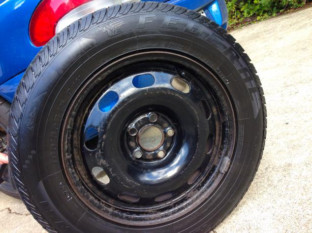 Used Tires Oshawa >> Rims Included! 195/65/R15 91H Federal Himalaya ws1 Snow ...