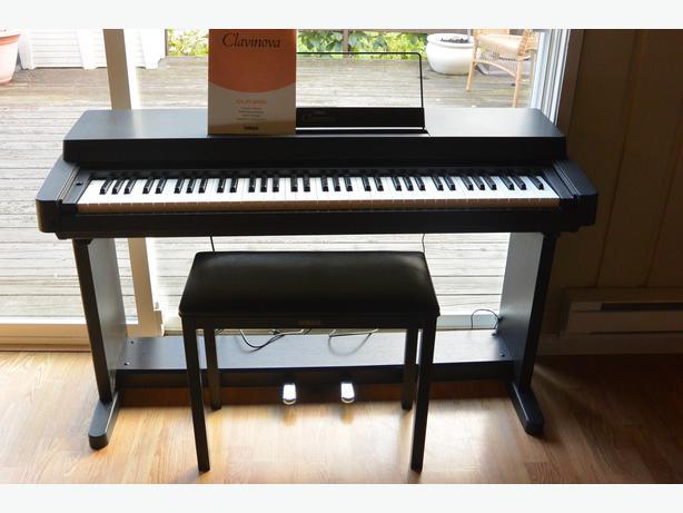 Yamaha clavinova piano clp 250 comox comox valley for Yamaha piano store winnipeg
