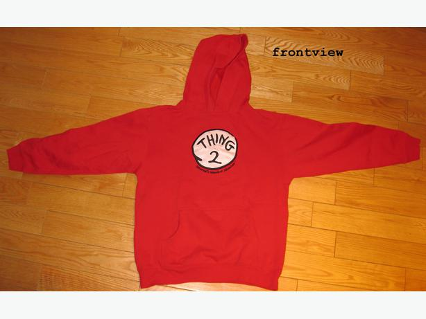 THE CAT IN THE HAT HOODIE - THING 2