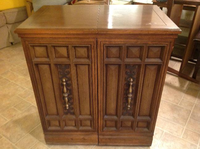 used sewing machine cabinet