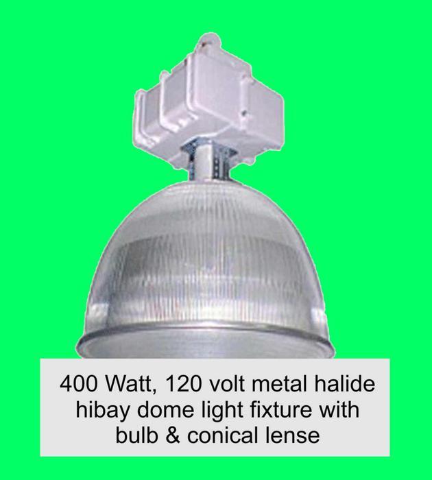 400 Watt, 120 Volt Metal Halide Light Fixtures Outside