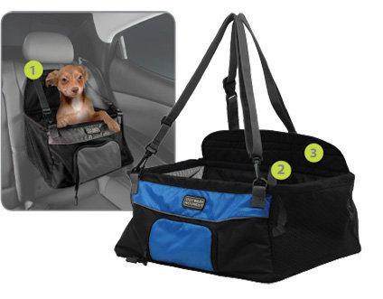 kyjen outward hound car booster seat small black 18 courtenay courtenay comox. Black Bedroom Furniture Sets. Home Design Ideas