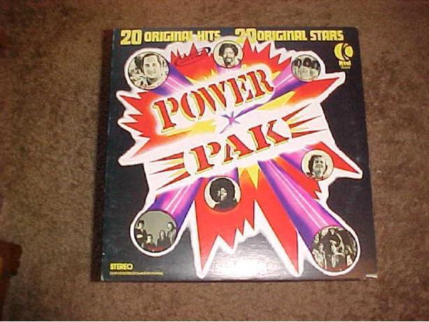 POWER PAK VINYL LP