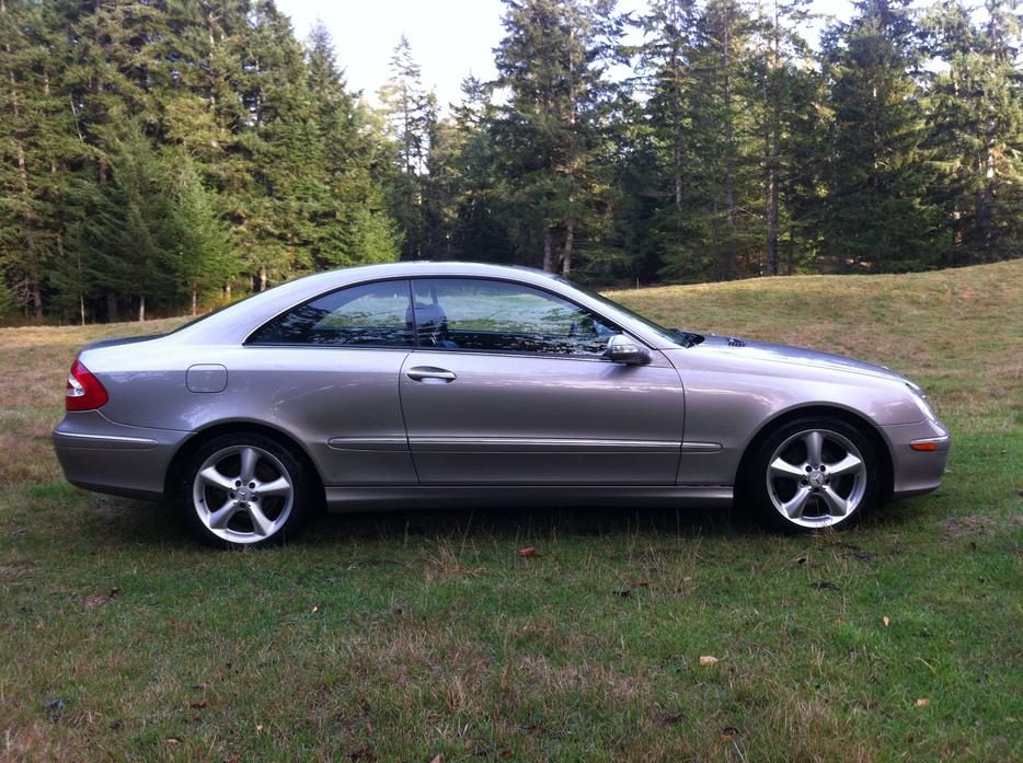 2005 mercedes benz clk320 outside comox valley comox valley for Mercedes benz bay ridge