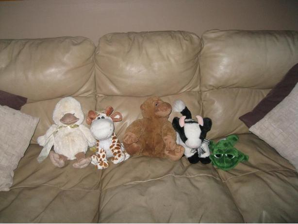 Assorted Stuffed Animals - ($10 each OR get 2 for ONLY $15)