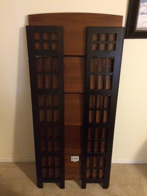 pier 1 imports folding bookcase saanich victoria mobile. Black Bedroom Furniture Sets. Home Design Ideas