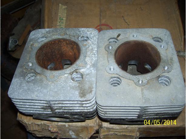 Skidoo MX 470 cylinders jugs