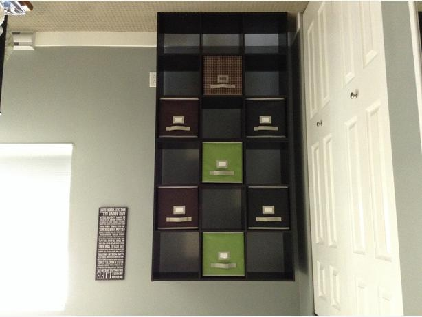 Two 3x3 Cube Bookshelves Stacked In Picture West Shore